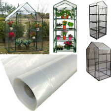 Transparent Plastic Greenhouse Film Garden Plant Vegetable Grow House Cover