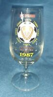 Orig. Biertulpe 1987 BFC Dynamo Berlin DDR Oberliga Meister Fussball Glas Tulpe