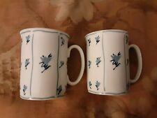 Block Spal Portugal Blue Fields by Jack Prince Cup Mug Coffee Set Lot of 2
