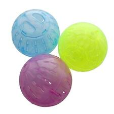 Hamster Running Ball Plastic Toys Pet Crystal Clear Toy Fitness Cage Free Roam