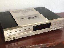 Luxman D-01 Vintage High End  CD Player, CD Laufwerk mit Anleitung Silber