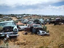 1950s 60s 70s Cars Lined up in junk yard South West  8  x  10  Photograph
