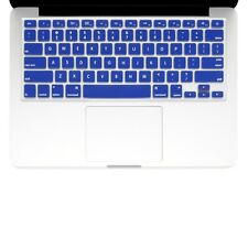 "UNIK CASE-Silicone Keyboard Cover for Macbook Pro 13"" 15"" 17""Unibody-Royal Blue"