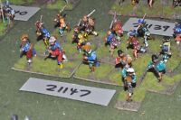 25mm renaissance / generic - infantry 16 figures - inf (21147)