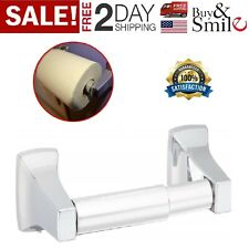 Toilet Paper Holder Chrome Wall Mount Storage Tissue Roller Bathroom Accessories