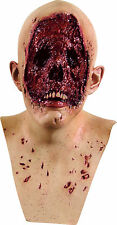 Halloween LifeSize Costume NO FACE ZOMBIE DELUXE MASK Haunted House NEW
