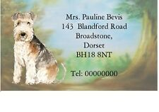 Lakeland Terrier Address Labels by Starprint