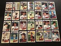 1980 Topps BOSTON Red Sox COMPLETE Team Set FISK Fred LYNN Jim RICE YASTRZEMSKI