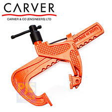 Carver cramp T186 150mm 6in 15cm T186-150 welders rack clamp heavy duty CRVT1866