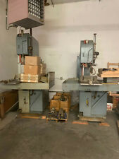 Doall Vertical Band Saws Qty 2 With 15 Blades Looking For Swift Sale Pls Offer