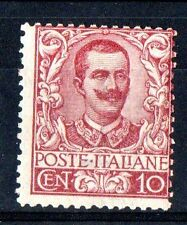 1901 REGNO 10 CENTESIMI LINGUELLATO C/8475