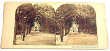 STEREOFOTO STEREOVIEW PHOTO 1875 ca.  - REAR OF INDEPENDENCE HALL, PHILADELPHIA
