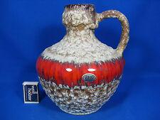 "70´s design Jopeko ""Lava"" pottery / Keramik  jug vase / Krug Vase  ???  24"