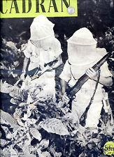 revue . CADRAN N°3 .guerre dans la jungle .planeur Hamilcar. avion Me323.Japon.