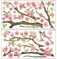 Wall Paper Art Deco Mural Sticker Cherry Blossom A+B