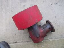 "Farmall Cub Tractor Ih steel 8 7/8"" Flat Belt 4 1/2"" Pulley /+ drive gear box"
