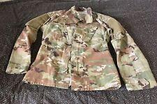 Army Jacket Uniform XS Unisex Zipper Attach Patches Camouflage Multi Pocket
