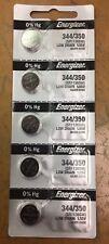 Energizer 344/350 SR1136SW Silver Oxide Watch Battery (5PCS)