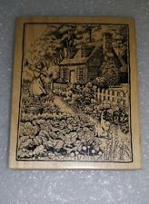 Rubber Stamp Cabbage Patch Cottage K2274
