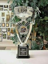CHILI COOK OFF CONTEST CHILI-COOK-OFF AWARD SILVER CUP TROPHY FREE ENGRAVING J*5