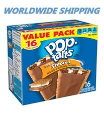 Pop-Tarts Frosted S'mores Toaster Pastries Value Pack 16 Ct WORLD SHIPPING