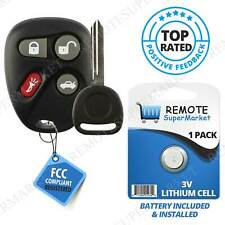 Replacement for Cadillac 2003-2007 Cts Remote Key Fob Car Keyless Entry Set (Fits: Cadillac)
