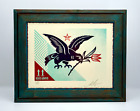OBEY - RISE ABOVE BIRD - SIGNED & NUMBERED LETTERPRESS 437 of 450 ***IN STOCK***