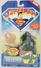 SUPERMAN ANIMATED SERIES LEX LUTHOR WITH KRYPTONITE ARMOR AND LAUNCHER