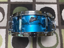 """Oriollo Phantom 14"""" Snare Drum Spun Aluminum Shell Ludwig Snare Wires Mint Cond."""