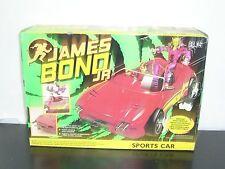 Vintage 1992 James Bond Jr Sports Car Vehicle Moc Mint Hasbro