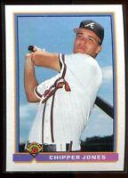 1991 Bowman 569 Chipper Jones Rookie (c)