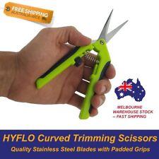 Curved Blade Trimming Scissors Hydroponics Harvest Spring Loaded