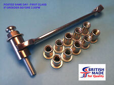 M8 - Heavy Duty High Tensile (10.9)  Rivnut Rivet Nut Nutsert Tool Kit