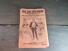 livre très ancien pour rire entre homme recueil comique Grivois 1900