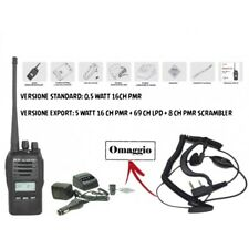 RICETRASMETTITORE PROXEL TYT TH-446PLUS PMR 446 UHF PORTATILE VERSIONE EXPORT 5W