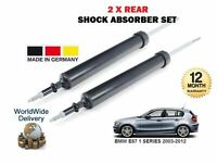 FOR BMW E87 1 SERIES 2003-2012 2x REAR LEFT + RIGHT SHOCK SHOCKER ABSORBER SET