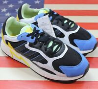 Adidas Originals Tresc Run Boost Men's Running Shoes Black/Yellow/Blue [EG7949]