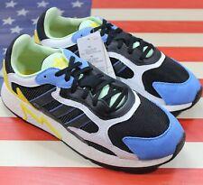 Adidas Originals Tresc Run Boost Men's Running Shoes Black/Yellow/Blue [EG7949]