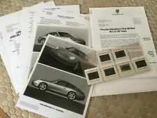 PORSCHE 911 996 CARRERA OFFICIAL LOS ANGELES PRESS KIT BROCHURE 1999 USA EDITION