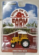 1/64 scale Greenlight FORD 1988 5610 TRACTOR DOWN ON THE FARM SERIES 1 ERTL DCP