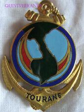 IN10753 - INSIGNE Compagnie de Garnison, TOURANE, émail