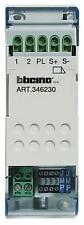 Bticino 346230 - Relais 2/8 fils - pour gâche 12 vcc ou pour automatisme de port