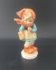 More details for  vintage little red riding hood  1950s pottery figurine