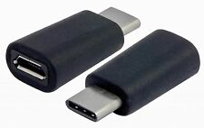 USB Micro to USB 3.1 MINI C Male Extension Adapter Data Charge Samsung Galaxy s8