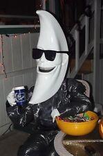 US STOCK Mac Tonight Costume BOB BAKER Moon Wigs Masquerade Halloween Latex Mask