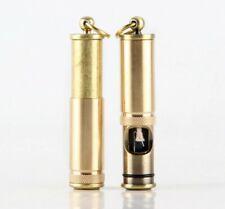 Cylindrical Retro Metal Lighter Cigar Cigarette Lighter Torch Kerosene Lighters