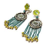54f1c890e47 Bijou fantaisie créateur boucles d'oreilles clips Les Gens du Sud earrings