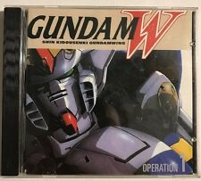 Mobile Suit Gundam W Wing Operation 1 Soundtrack Ever Anime 1999 Rare