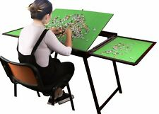 Puzzle Table Jigsaw Storage Folding Tilting Table Portable Self Stand