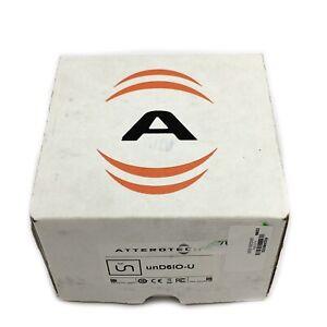 New Attero Tech QSC Dante Networked Audio Wall Plate UND6IO-U